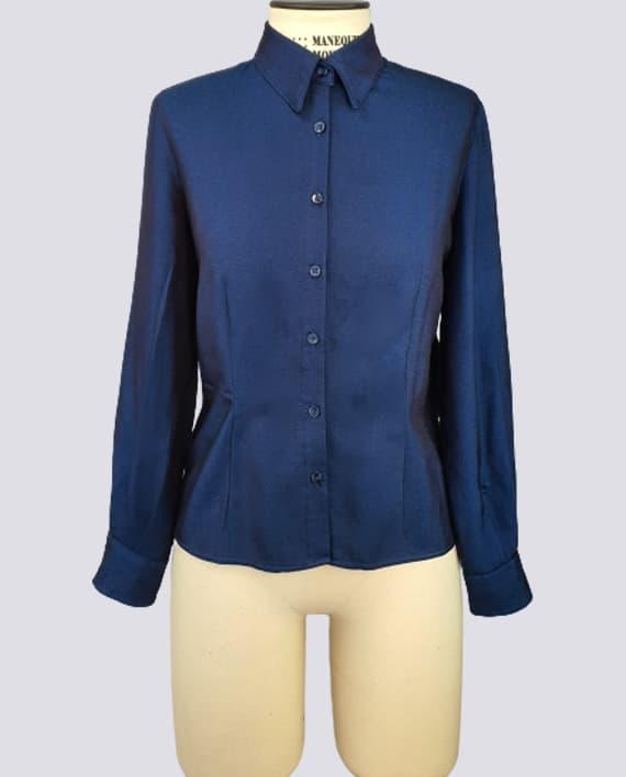 Kit de Molde de Camisa Feminina Modelada – Tecido Plano frente 570x708 OT