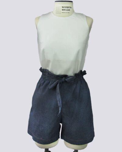 Kit Completo de Molde de Shorts Clochard – Tecido Plano – Tam.36 ao 56