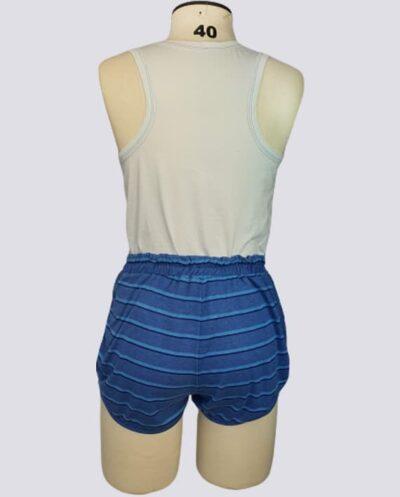 Kit Completo de Molde de Conjunto Camiseta Regata com Short Boxer – Malha – Tam.PP ao GG