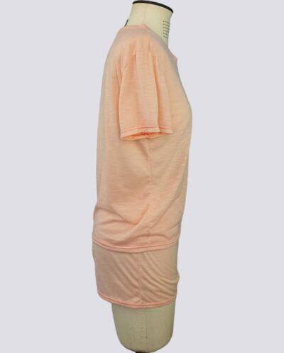 Kit Completo de Molde de Conjunto Shorts com T-Shirts – Malha – Tam.PP ao XXG
