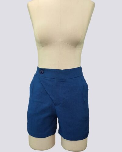 Kit Completo de Molde de Shorts Social – Tecido Plano – Tam.36 ao 56
