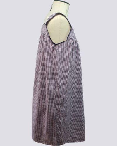 Kit Completo de Molde de Conjunto de Camisola com Pala com Franzido – Tecido Plano – Tam.36 ao 56