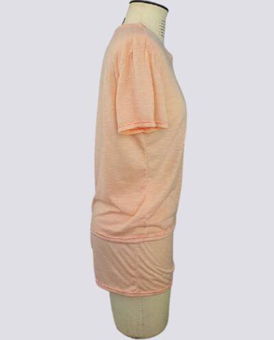 Kit Completo de Molde de Conjunto de Pijama Curto Feminino – Malha – Tam.PP ao XXG