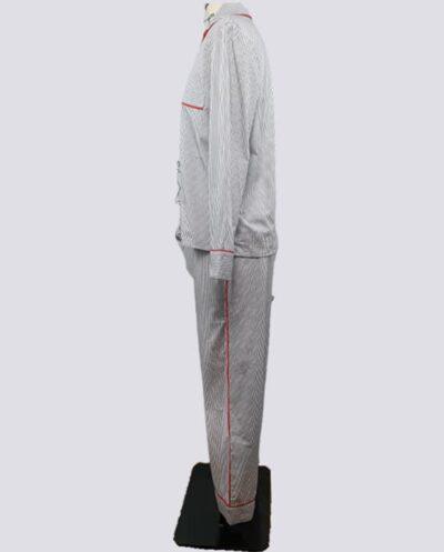 Kit Completo de Molde de Conjunto de Pijama Longo Feminino – Tecido Plano – Tam.36 ao 56