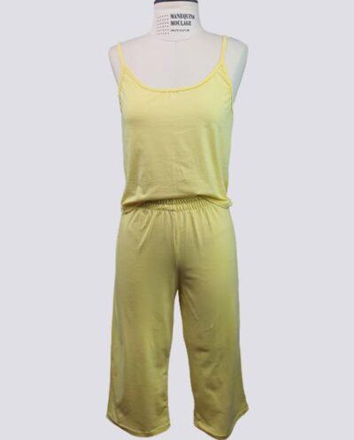 Kit Completo de Molde de Conjunto de Pijama Feminino com Panacourt com Blusa de Alcinha – Malha – Tam.PP ao XXG