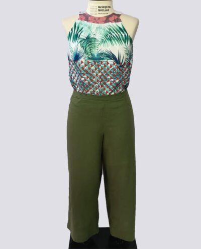 Kit Completo de Molde de Calça Pantalona – Tecido Plano – Tam.36 ao 56