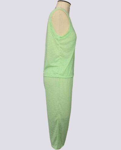 Kit Completo de Molde de Conjunto de Pijama Pescador Feminino – Malha – Tam.PP ao XXG