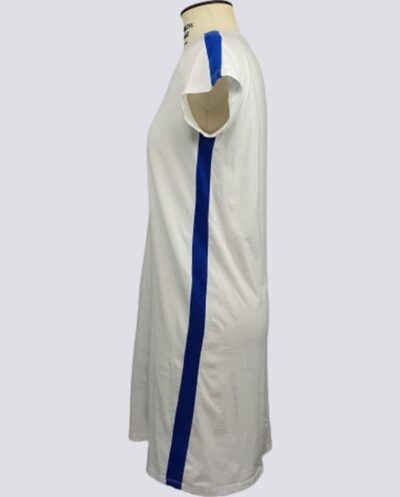 Kit Completo de Molde de Vestido com Manga Raglan com Faixa na Lateral – Malha – Tam.PP ao GG