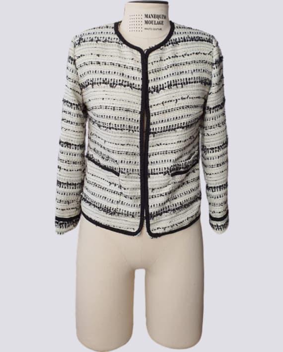 Kit de Molde de Casaquinho Estilo Chanel Frente 570X708 OT