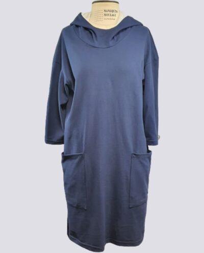 Kit Completo de Molde de Vestido Blusão com Capuz – Malha – Tam.PP ao XXG