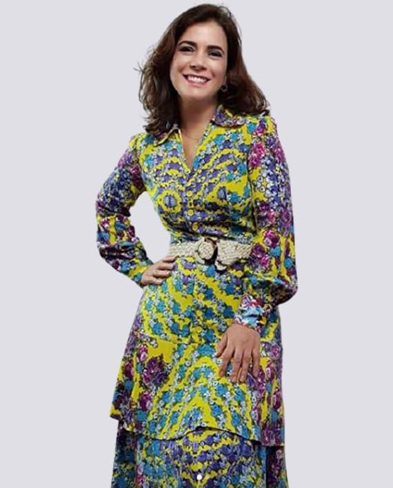Vestido Chemise com Babado Duplo – Tecido Plano Frente 570x708 OT