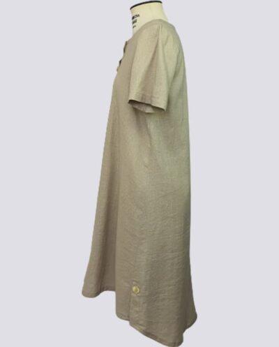 Kit Completo de Molde de Vestido Evasé com Decote Canoa e Carcela – Tecido Plano – Tam.36 ao 56