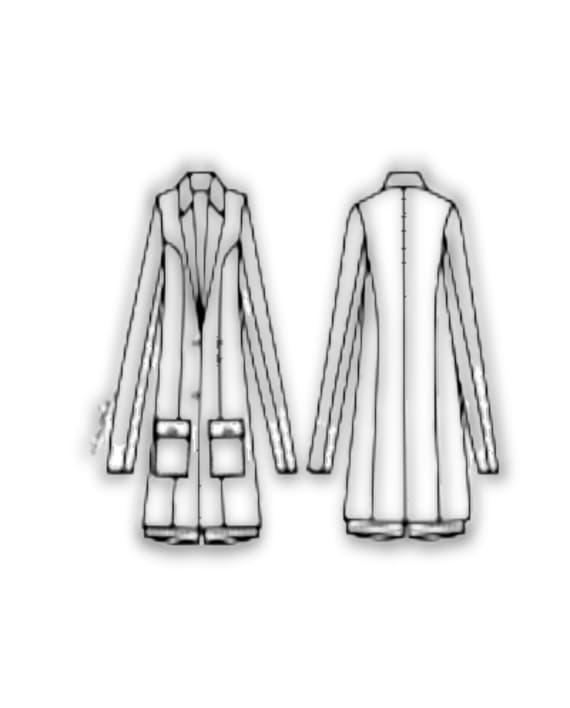 Kit Completo de Molde de Blazer de Verão – Malha – Tam. 36 ao 56